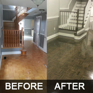 Hardwood Floor Repair & Restoration Toronto, Mississauga