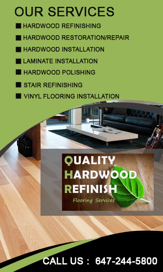 Quality Hardwood Finish